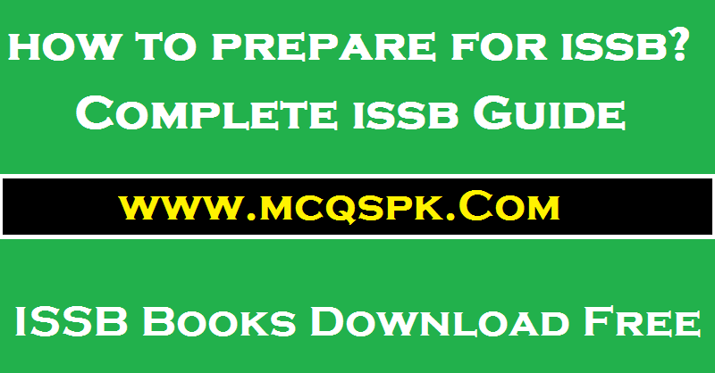 ISSB Preparation Material