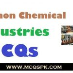 Common Chemical Industries MCQs