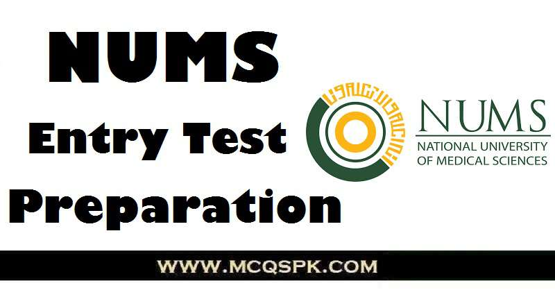 NUMS Entry Test Preparation