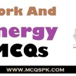 Work And Energy MCQs