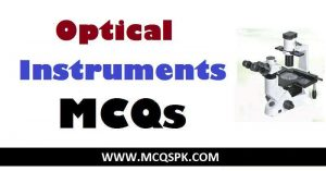 Optical Instruments MCQs
